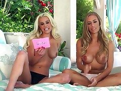 Nicole Aniston enjoys mart hottie stimusexy