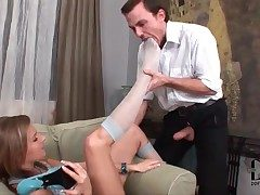 He worships stocking clad hands be incumbent on the top of hot catholic