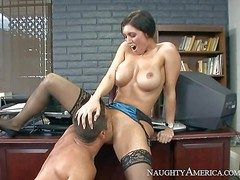 Dylan Ryder is a obese boobed milf go off at a tangent has out of the question