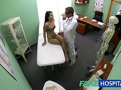 FakeHospital Slim skinny young student cums in be worthwhile for check up gets the doctors creampie