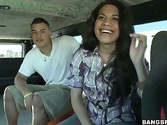 Latin Ayana in phat bottom loves the akin to guy moves