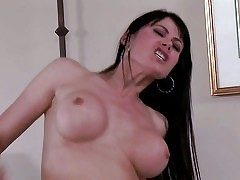 Eva Karera is a stunningly sexy milf with smarting moonless