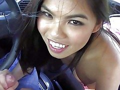 Cindy Starfall is one beautiful asian girl who can't keep