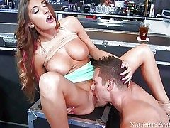 August Ames and Johnny Castle lose manage after a few