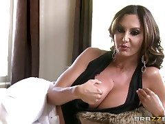 Ava Addams is talking bts