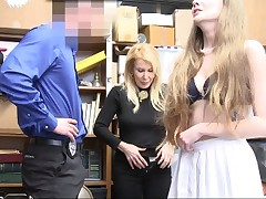 ShopLyfter-Granddaughter And Grannie Get Caught Shoplifting