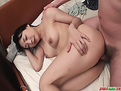 Miho Wakabayashi Sucks In Point of view And Gets Creampied