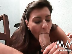 German mature wife gets the dinky inwards her