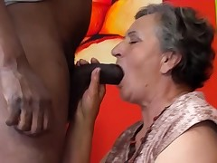 80 years old granny first-ever multiracial